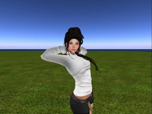 Kira,my avatar in Second Life.
