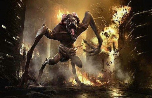 "The monster from ""Cloverfield"", the film that built the mold for the universe depicted this time out."