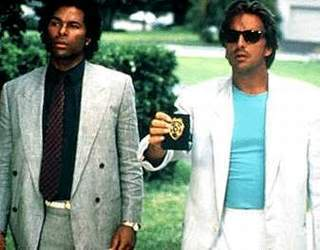 Crockett and Tubbs from Miami Vice.