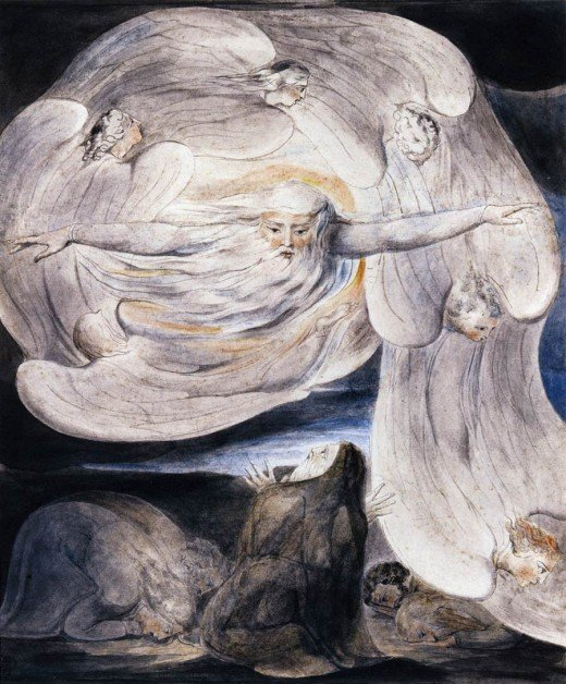 Another illustration by William Blake.