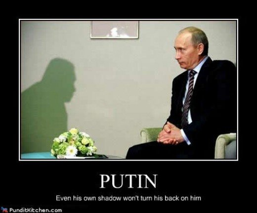 Vladimir Putin:  Russia one of the nations engaged in the conflict.