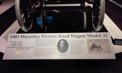 Tellus Museum 1903 Electric Car