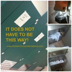 Workplace safety concerns in the restroom