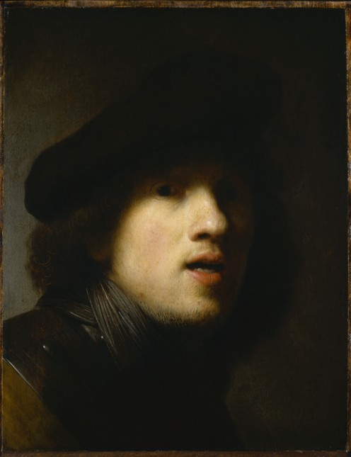 Self Portrait of young  Rembrandt