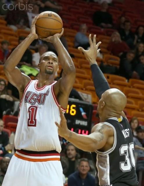 NBA great, Chris Bosh.