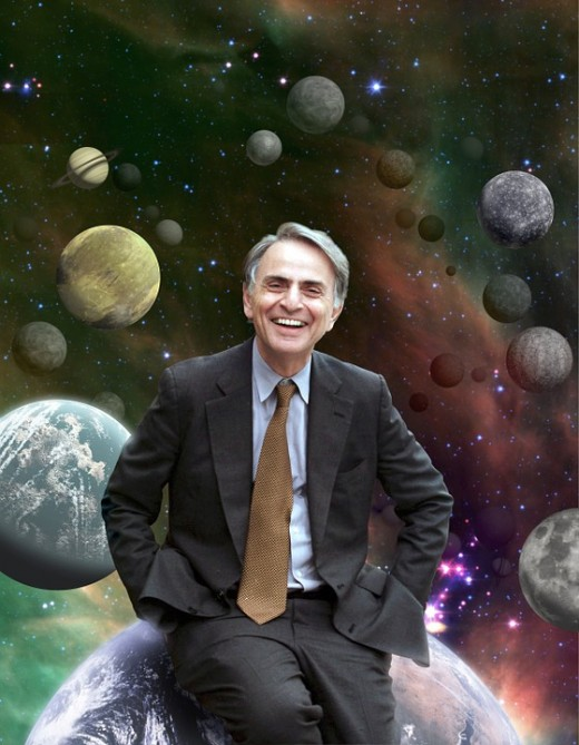 """The universe is a pretty big place. If it's just us, seems like an awful waste of space."" - Carl Sagan"