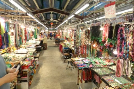 Jade Market in Hong Kong