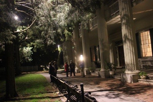 A night ghost tour of The Hermitage in Hermitage, Tennessee