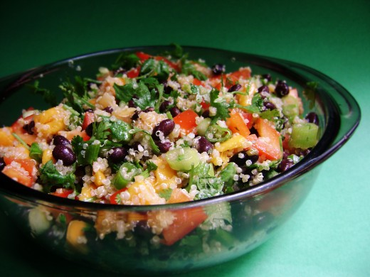 What a glorious looking Black Bean Salad.