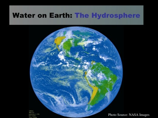 Basics of water on earth