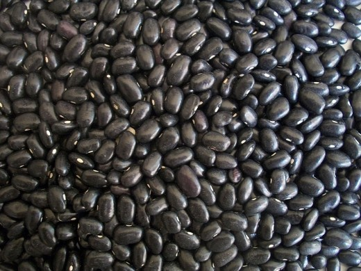 Black beans, delicious and nutritious.