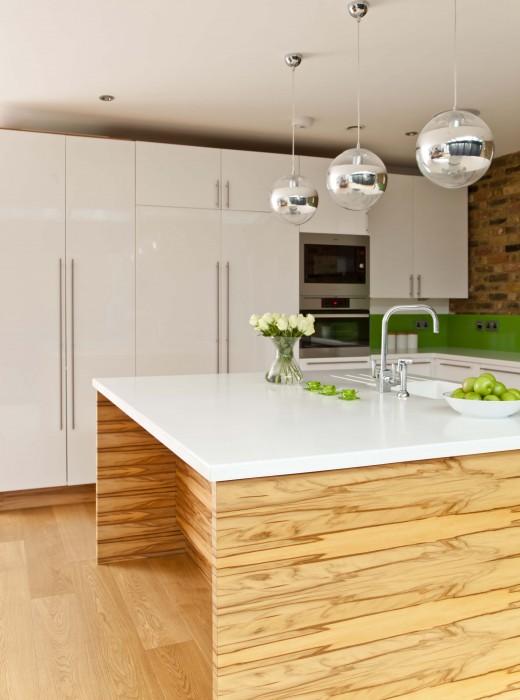 Veneer finished kitchen