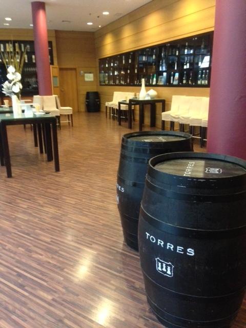 Wine Tasting Area.