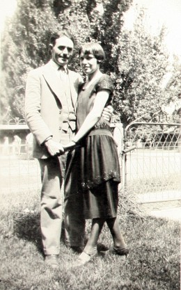 Grandpa Hugh Cheney and Grandma Ella Gladys Anderson (Barker)