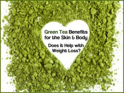 Drinking green tea is good for the skin and it helps with weight loss.