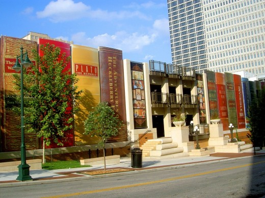 Kansas public library. I wish I could visit it one day.