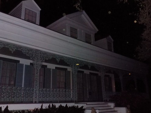 Side View of House with Orbs Present