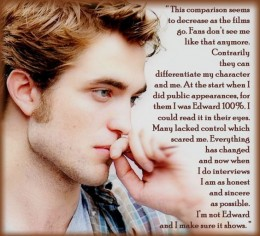 Robert Pattinson & Kristen Stewart have both always supported and defended their young Twihard fans. They also seem to 'get' the over-obsessions; and have handled them well. It is cool that they are such good people beyond their characters. ;)