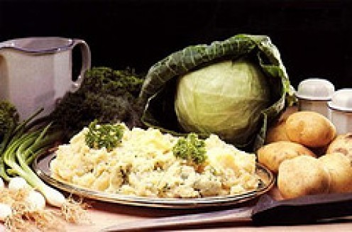 Colcannon showing Main Ingredients