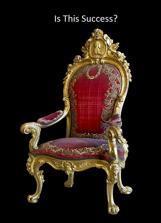 Some people would like a throne.