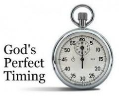 Tick-Tock God's Clock & God's Timing