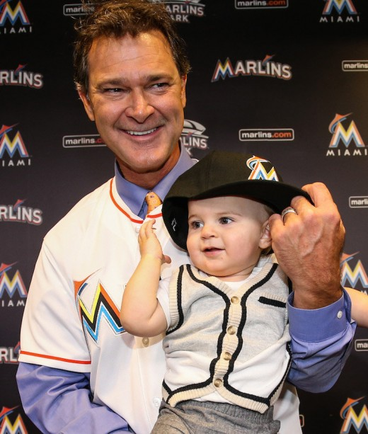 Baseball legend Don Mattingly managing the Miami Marlins in 2016