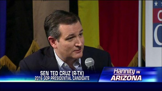 Ted Cruz talks with Sean Hannity in a special one-hour live sit-down with in Arizona