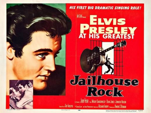 "Poster for ""Jailhouse Rock"""