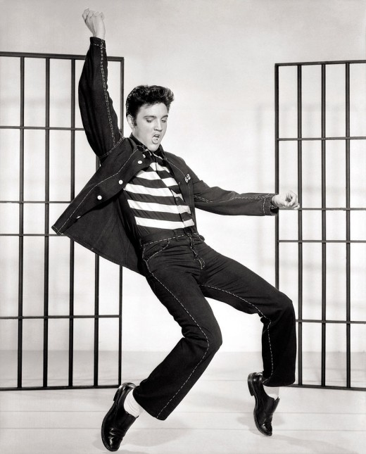 The title track led to one of Elvis' more iconic movie sequences as well as ensure the movie's place in history