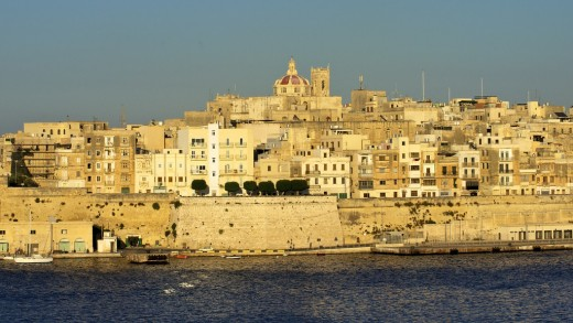 The capital city, Valletta is like one big fort