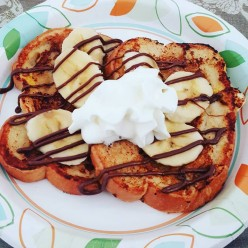 Banana & Nutella French Toast