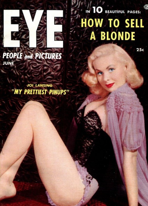 Joy on the cover of 1955 Eye magazine