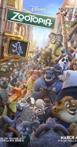 Zootopia Movie Reivew