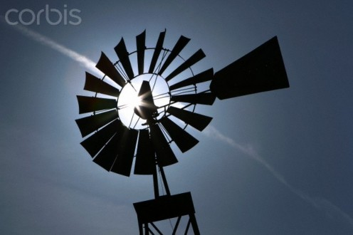 The  windmill was  a vital part of  any successful  farm.
