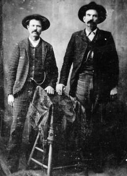 Frank Arthur  NUCKOLS (left, 1858-1927)  Felix McConnell ROBERTSON  (1857-1926).