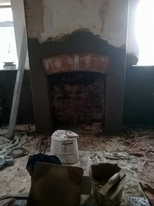 Be prepared for some serious renovation work when purchasing older properties, but in this case there was a nice surprise!