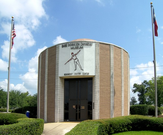 Babe Didrikson Zaharias Museum located in Beaumont, Texas, United States.