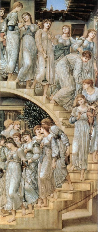 Golden Staircase by Burne Jones