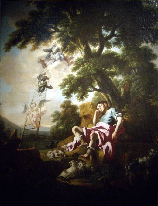 The Dream of Jacob (1835 painting by the school of Francesco Solimena)