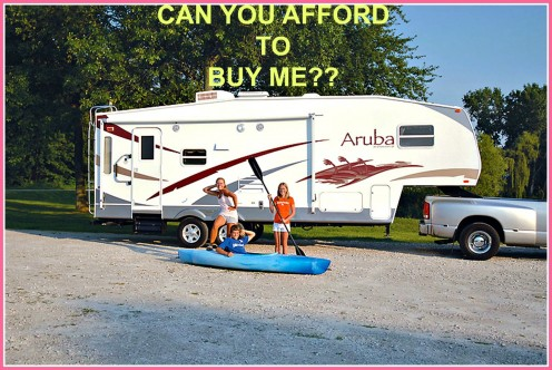 How Much Can You Afford to Pay for an RV?