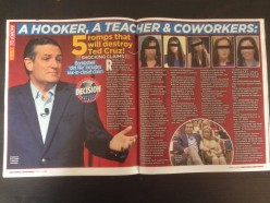 #CruzSexScandal trending on Twitter, National Enquirer drops bombshell on Cruz campaign