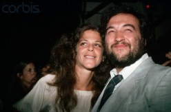 Comedians and Saturday Night Live Royalty, Gilda Radner  and John Belushi  shot in 1978.
