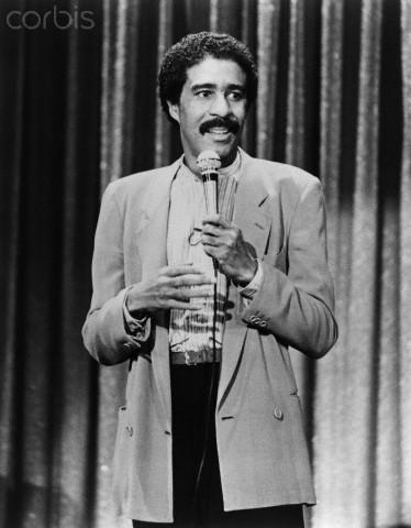 Richard Pryor performing  in .1982