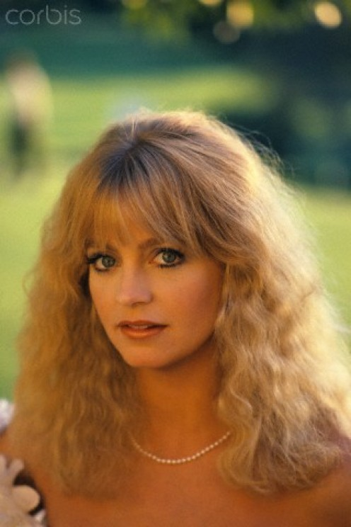 """Goldie Hawn, started out on """"Laugh In,"""" in 1969. Now look at her in 1980."""