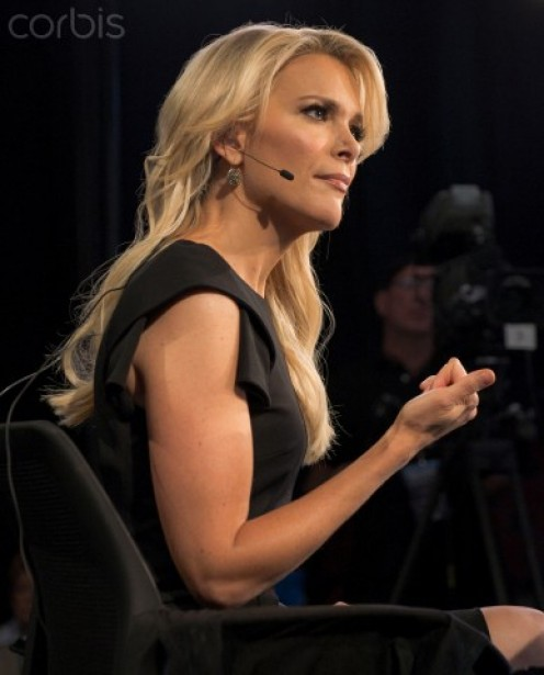 Megyn Kelly at work.