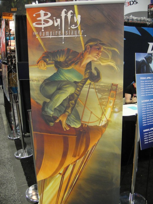 WonderCon 2011 - Buffy the Vampire Slayer Dark Horse Comics banner
