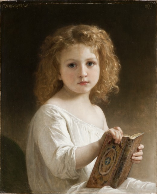 The Story Book, William-Adolphe Bouguereau