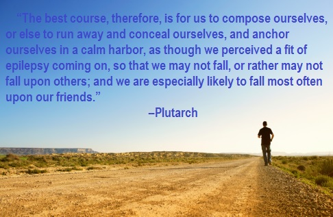 Greek philosopher Plutarch on Anger Management