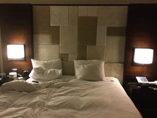 A Hilton Union Square double bed