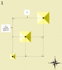 The Pyramids of Giza - A Mathematical Enigma